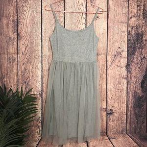 Topshop Women's Dress Tool Bottom Gray 8